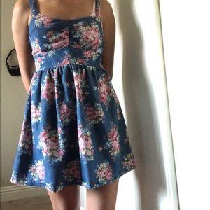 Short babydoll Mini Floral Dress